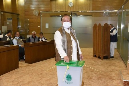 PTI's Barrister Sultan Mehmood elected AJK President