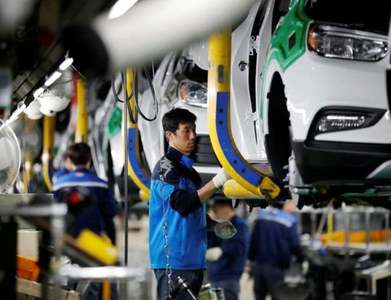 Auto factories push US industrial production higher than expected in July