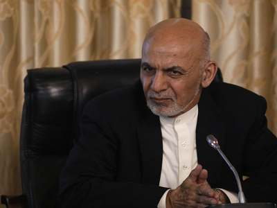 UAE says hosting Afghan ex-president 'on humanitarian grounds'