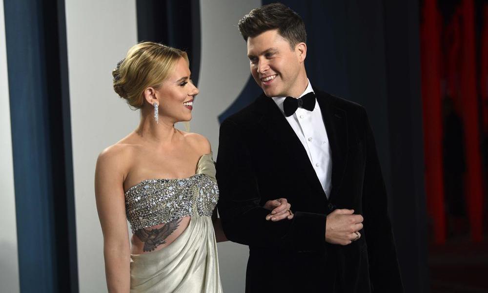 Scarlett Johansson and Colin Jost welcome baby boy
