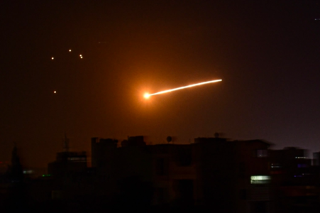 Syria says air defence shot down Israeli missiles