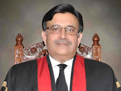 Justice Umar Ata Bandial takes oath as acting CJP