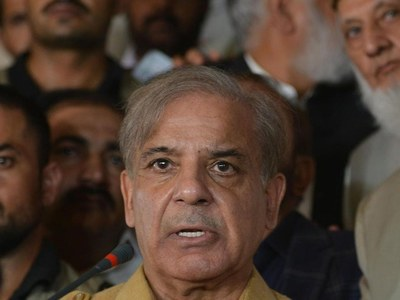 Evolving situation in Afghanistan: Shehbaz demands joint session of Parliament in-camera