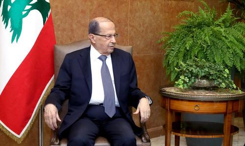 Lebanon president says treasury to bear cost of fuel subsidies