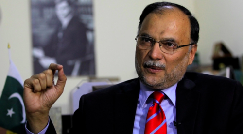 Ahsan Iqbal slams PTI government for 'false corruption charges', vows fightback