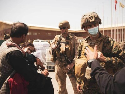 Germany says firefight involving Western forces erupts at Kabul Airport