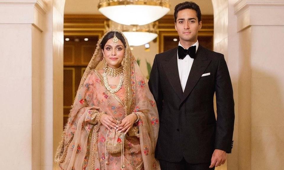 Junaid Safdar, son of Maryam Nawaz, ties knot in London
