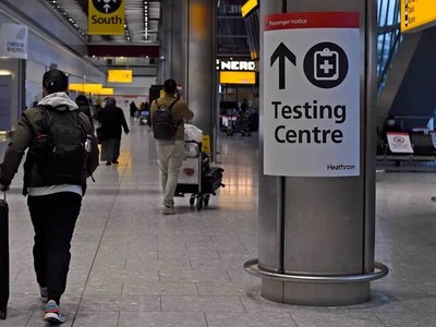 UK warns Covid travel test providers over pricing