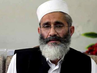 JI chief steps up criticism of PTI govt for promoting 'culture of loot'