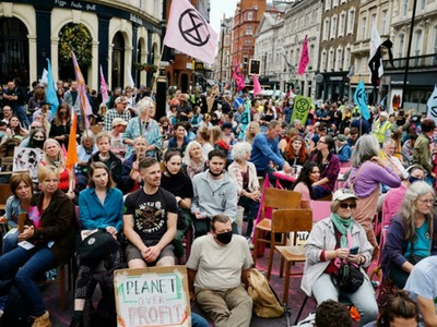 Extinction Rebellion targets central London in new protests