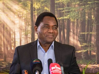 'Cattle boy' millionaire: Zambia's new president
