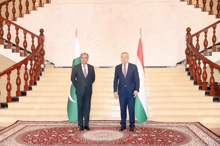 Pakistan, Tajikistan to coordinate for response on Afghanistan: FM tells counterpart