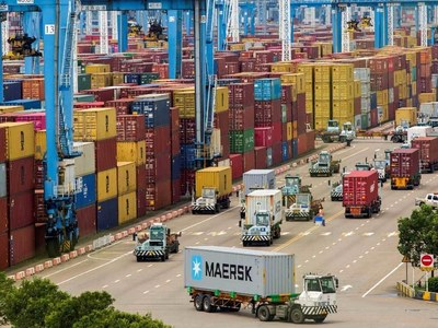 China reopens world's third busiest port after partial virus halt