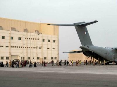 UAE helps 28,000 flee Afghanistan: official