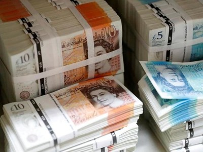 Pound dips after risk-led recovery