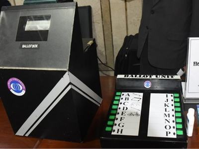 Govt to acquire around 0.4m EVMs for 2023 elections