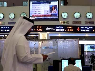 Major Gulf bourses fall on virus worries