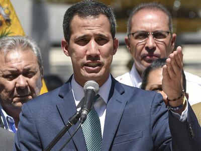 Guaido focused on advancing date for Venezuela elections