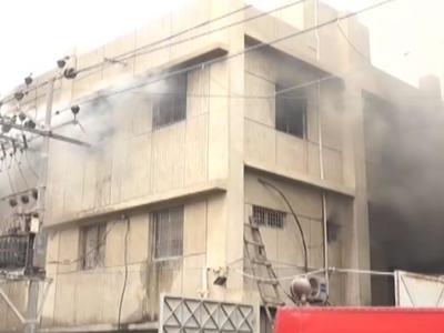 At least 17 killed in Karachi chemical factory blaze