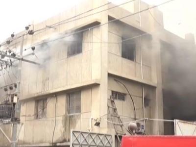 Korangi factory fire: MQM-P demands resignations of administrator, minister