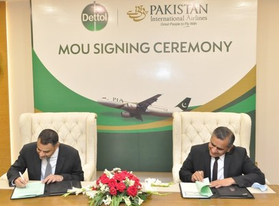 PIA, Dettol Pakistan join hands to promote safety for passengers