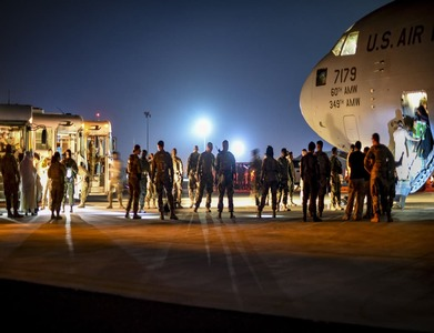 US military begins withdrawal from Kabul airport