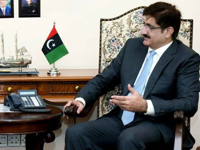 Murad asks Centre to 'account for Rs9,000bn collected from Sindh'