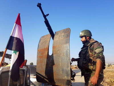 Syrian army bombards rebels in birthplace of uprising
