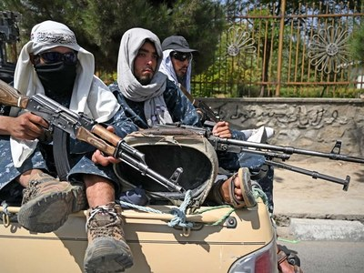 Taliban hail victory with gunfire after last US troops leave Afghanistan
