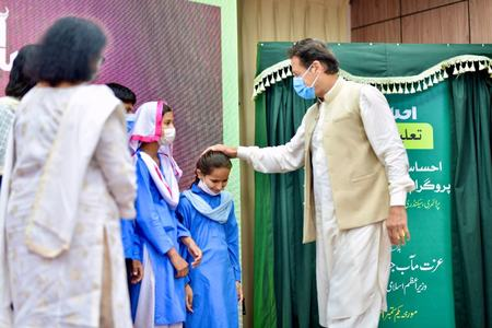 With focus on girls' education, PM launches Ehsaas School Stipend program for deserving students