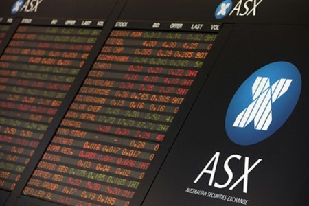 Australia shares trim losses on better-than-expected GDP data