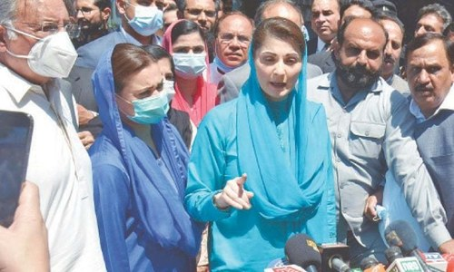 PTI's three-year rule has destroyed the country: Maryam Nawaz