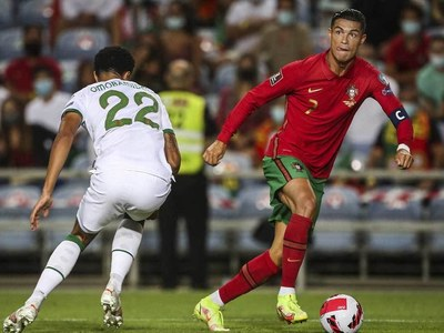 History man Ronaldo saves Portugal as France held in World Cup qualifying