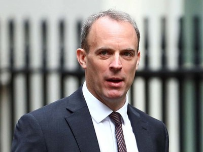 Britain's Raab, in Qatar, cites need to engage with Taliban
