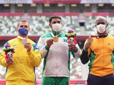 Haider Ali claims gold medal in Tokyo Paralympics