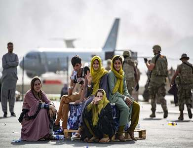 US general says most of those evacuated from Afghanistan to Qatar are now in Europe, US