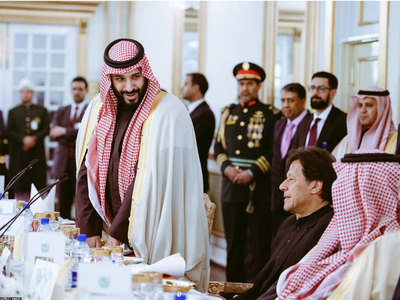 PM speaks to MBS, calls for ensuring economic stability of Afghanistan