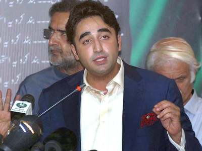 Bilawal makes veiled attack on Nawaz's absence from country