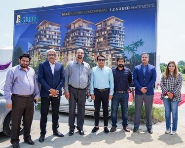 Zameen.com organises groundbreaking ceremony for 18 green condominiums in Defence Raya
