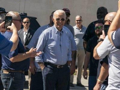 Biden heads to storm-damaged New York area