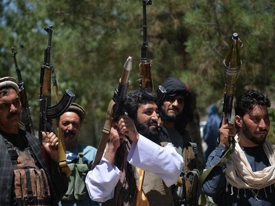 Taliban fire in air to scatter protesters