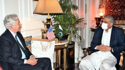COAS Bajwa meets CIA chief, discusses evolving situation in Afghanistan