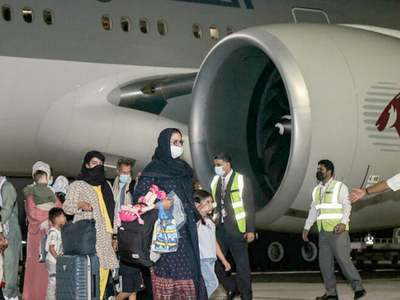 First evacuation flight from Kabul since US exit lands in Doha