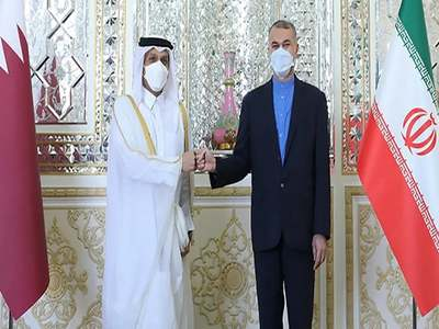 Iranian, Qatari ministers meet amid Iran-US tensions