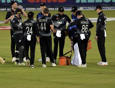 New Zealand cricket team arrives after 18 years