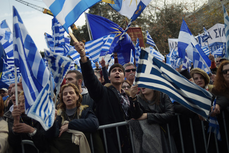 Protests as Greek PM seeks rebound from fires, Covid response