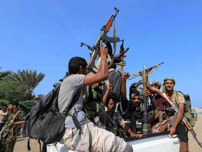 Yemen rebels attack aid port with missiles