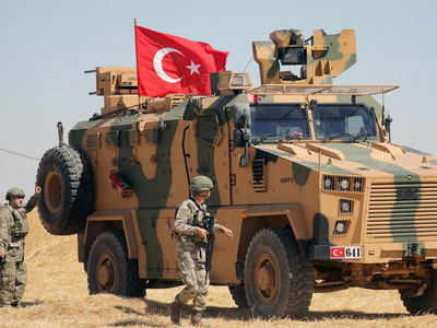 Two Turkish soldiers killed in Syria attack