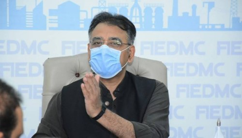 At least half of Islamabad's eligible population fully vaccinated: Asad Umar