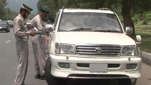 ITP issues tickets to 9,097 vehicles
